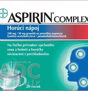 ASPIRIN COMPLEX Horúci nápoj